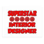Superstar Interior Designer Post Card