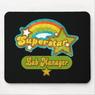 Superstar Lab Manager Mouse Pad