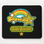 Superstar Legal Assistant Mouse Pad