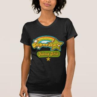 Superstar Makeup Artist Tee Shirts