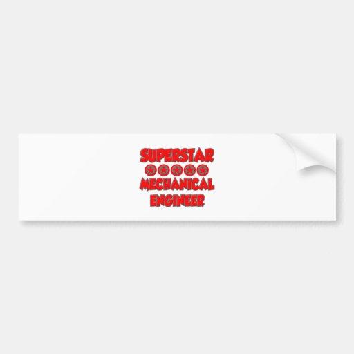 Superstar Mechanical Engineer Bumper Sticker