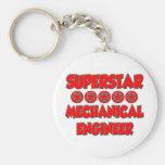 Superstar Mechanical Engineer Key Chains