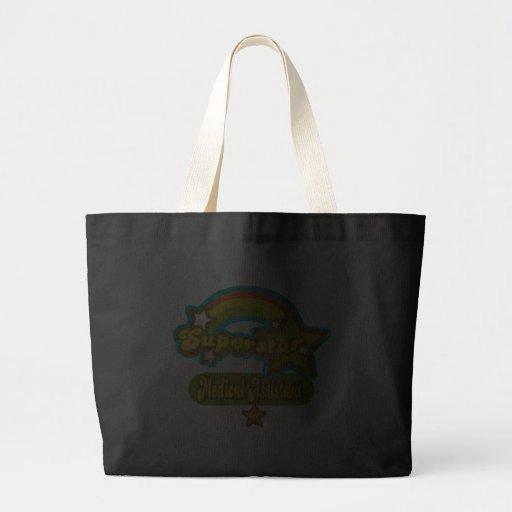 Superstar Medical Assistant Canvas Bags