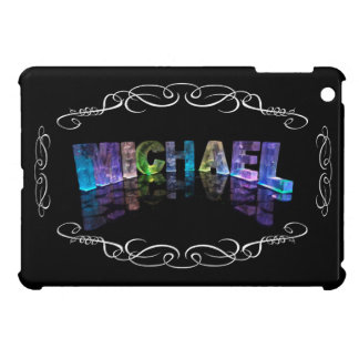 Superstar Michael -  Name in Lights (Photograph) iPad Mini Covers