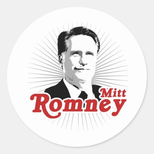 SUPERSTAR MITT ROMNEY.png Classic Round Sticker