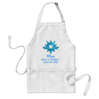 Superstar Mom and your name appreciation apron