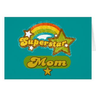 SuperStar Mom Card