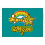 SuperStar Mom Greeting Card