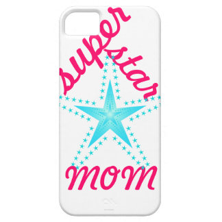 Superstar Mom iPhone 5 Cases