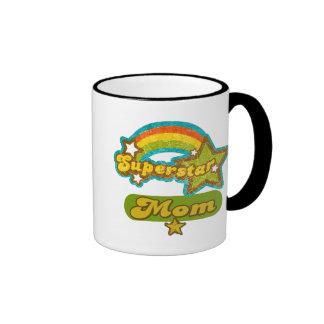 SuperStar Mom Ringer Mug