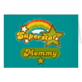 SuperStar Mommy Greeting Card