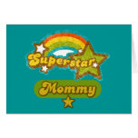 SuperStar Mommy Greeting Cards