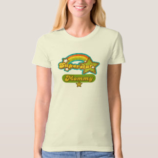 SuperStar Mommy Tee Shirts