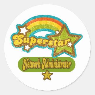 Superstar Network Administrator Sticker