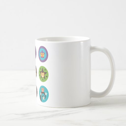 """Superstar Owl"" Classic White Coffee Mug"