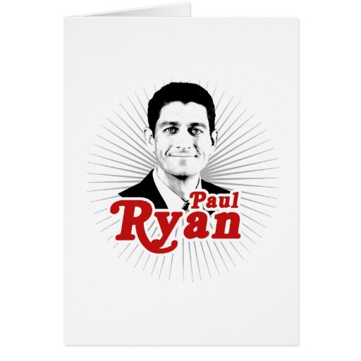 SUPERSTAR PAUL RYAN.png Greeting Cards