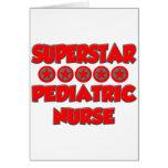 Superstar Pediatric Nurse Card