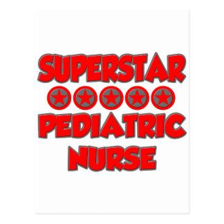Superstar Pediatric Nurse Postcard