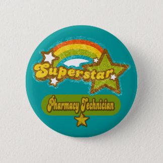 Superstar Pharmacy Technician Button