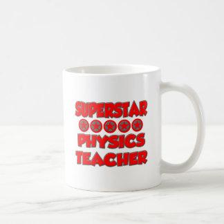 Superstar Physics Teacher Coffee Mugs