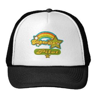 Superstar Pilot Trucker Hats