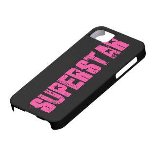 Superstar pink iPhone SE/5/5s case