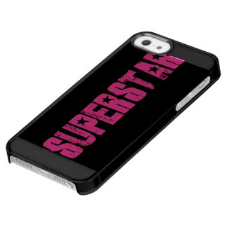 Superstar pink uncommon clearly™ deflector iPhone 5 case