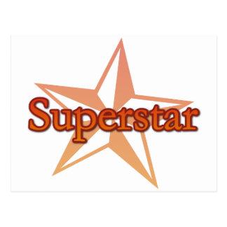 Superstar Postcard