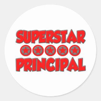 Superstar Principal Classic Round Sticker