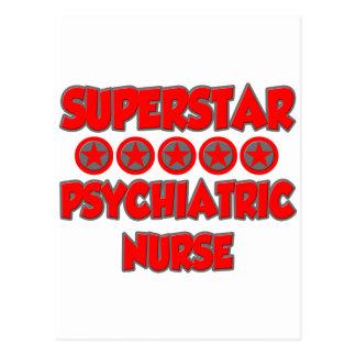 Superstar Psychiatric Nurse Post Cards