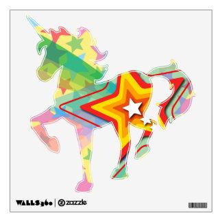 Superstar Rainbow Colorful Whimsical Shooting Star Wall Graphics