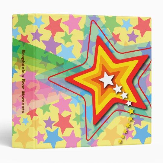 Superstar Rainbow Photo Album / Scrapbook Binder
