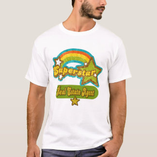 Superstar Real Estate Agent T-Shirt