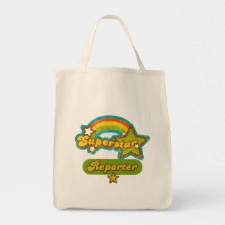 Superstar Reporter Canvas Bags
