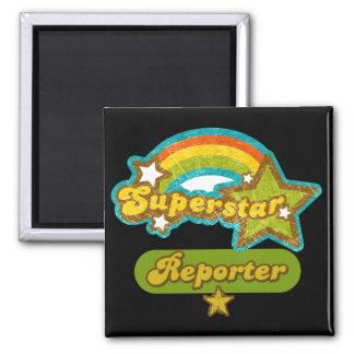Superstar Reporter Magnet