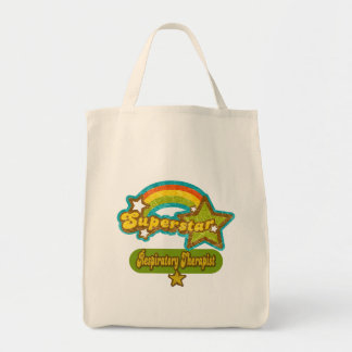 Superstar Respiratory Therapist Tote Bags