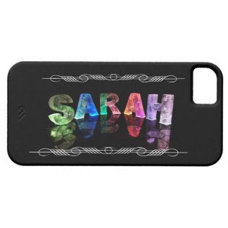 Superstar Sarah -  Name in Lights (Photograph) iPhone SE/5/5s Case