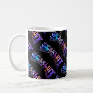 Superstar Scarlett -  Name in Lights (Photograph) Coffee Mug