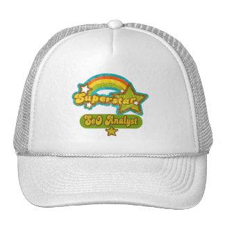 Superstar SEO Analyst Trucker Hats