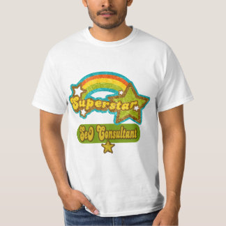 Superstar SEO Consultant Tee Shirt