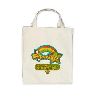 Superstar SEO Manager Canvas Bag