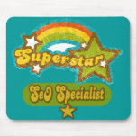 Superstar SEO Specialist Mouse Pads