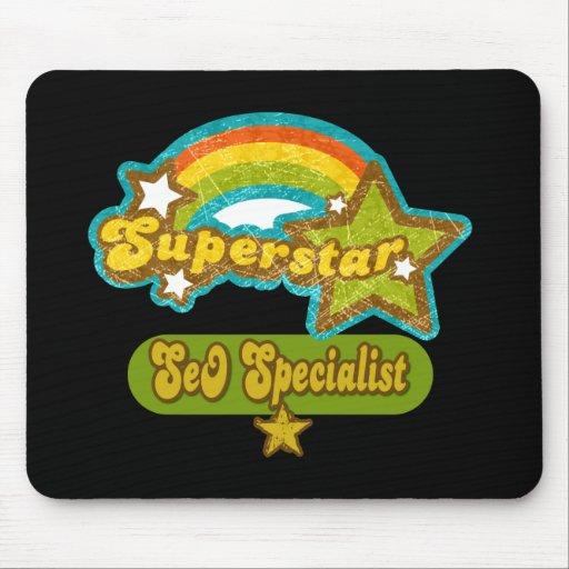 Superstar SEO Specialist Mousepads