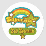 Superstar SEO Specialist Sticker