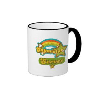 Superstar Server Ringer Coffee Mug