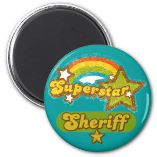 Superstar Sheriff Magnets