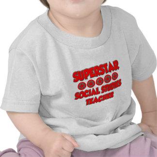 Superstar Social Studies Teacher T Shirt