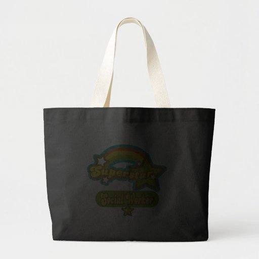 Superstar Social Worker Canvas Bags