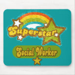 Superstar Social Worker Mouse Pad