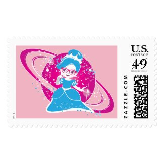 SuperStar Space Princess Stamps! Postage